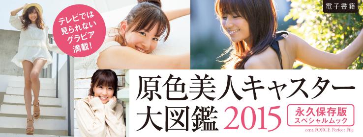 mibon(ミボン) 原色美人キャスター大図鑑2015予告