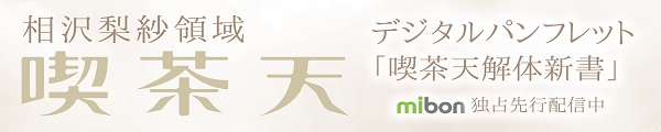 『相沢梨紗領域「喫茶天」』デジタルパンフレット